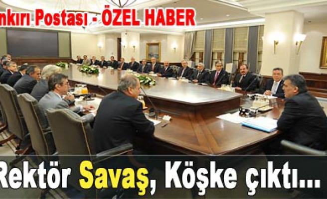 Cumhurbaşkanı Gül, rektörleri kabul etti...