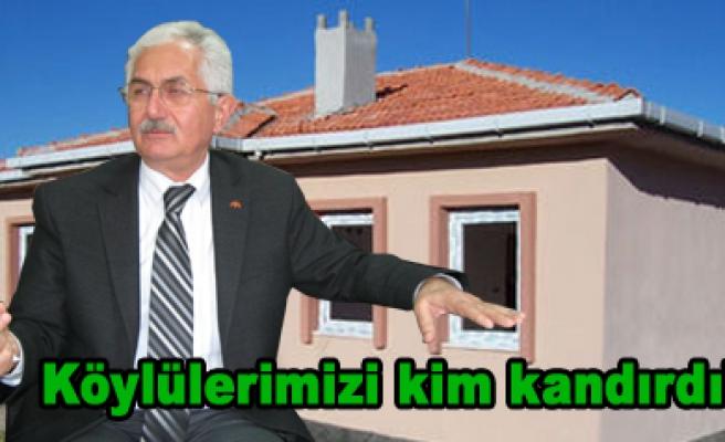 Ahmet Bukan sordu; Köylülerimizi kim kandırdı!