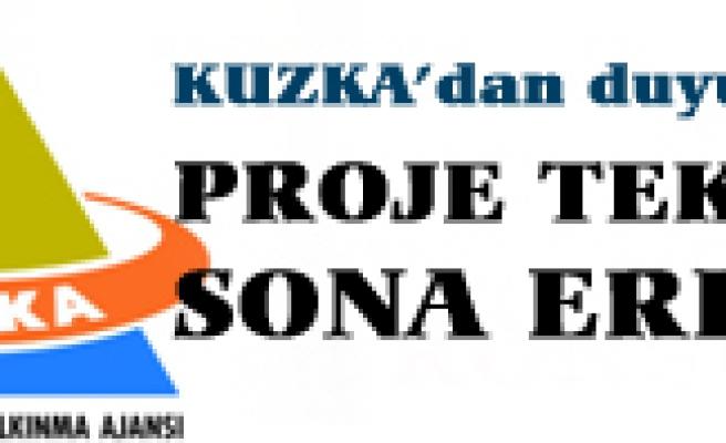 Kuzka proje teklif süresi sona erdi