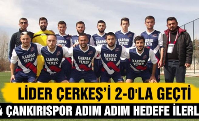 Lider Çerkeş Belediye Sporu 2-0'la geçti