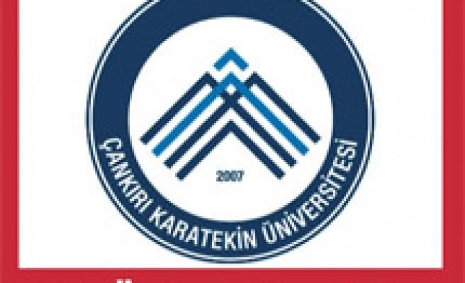 Ve Çankırı Karatekin Üniversitesinin logosu...