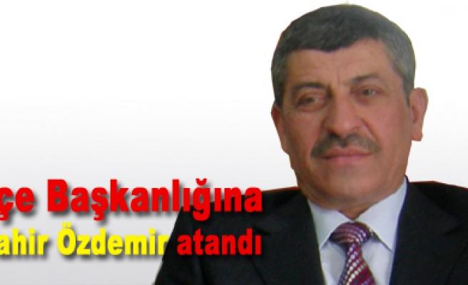 AK Parti Yapraklı ilçe başkanlığına Mahir Özdemir atandı