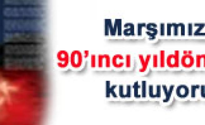Türk EğitimSen İstiklal Marşımızın 90. yıl dönümü kutlama