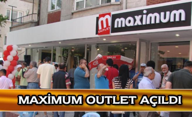 Maximum Outlet mağazası Çankırıda açıldı