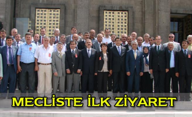 Ak Parti Heyeti Şahin ve Filiz'i ziyaret etti