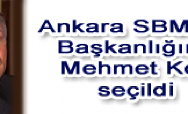 Ankara SMMM Odası başkanlığına Mehmet Koç seçildi