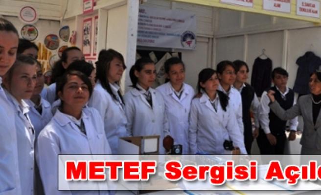 2010-2011 Eğitim Öğretim Yılı METEF Sergisi Açıldı