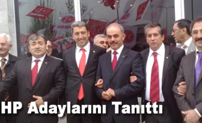 MHP Adaylarını Ankarada Tanıttı