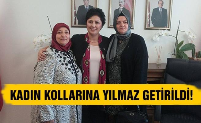 MHP'de kadın kollarına Yılmaz getirildi!