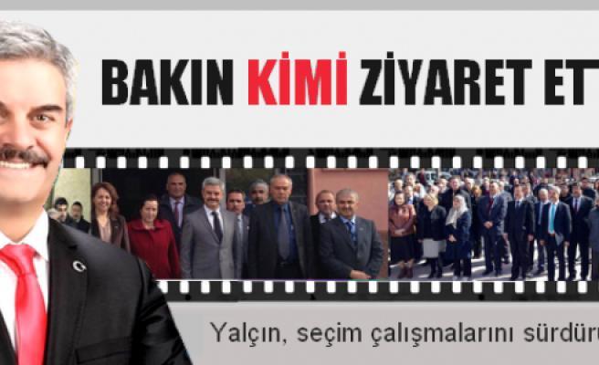 MHP'li Hakkı Yalçın AKP'yi ziyaret etti