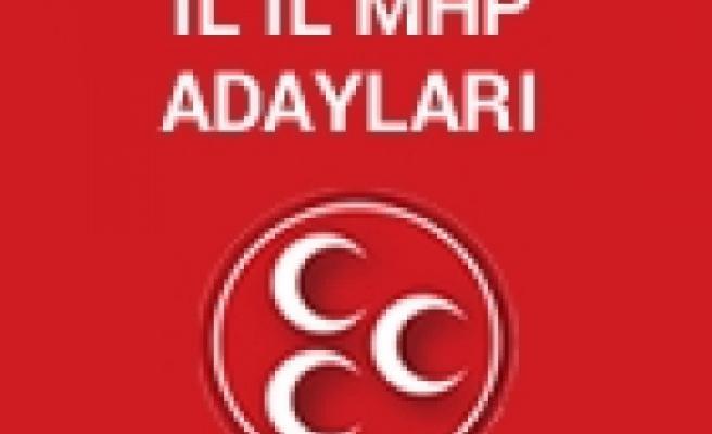 MHP'nin İl İl Kesinleşmiş Aday Listesi Belli Oldu