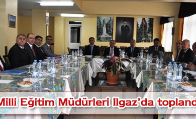 İlçe Milli Eğitim Müdürleri ılgaz da toplandı