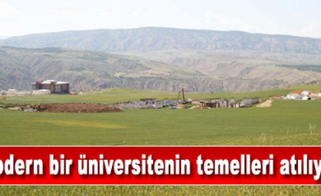 Uluyazı da modern bir üniversitenin temelleri atılıyor