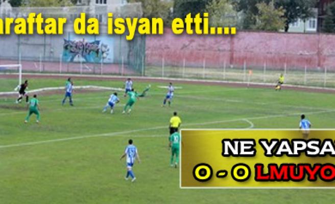 Çankırı Belediyespor-Ünyespor: 0-0