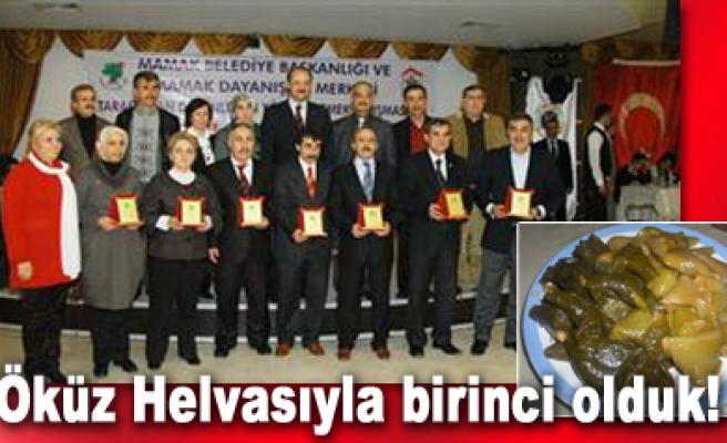 Çankırı Dernekler Federasyonu yarışmada birinci oldu...