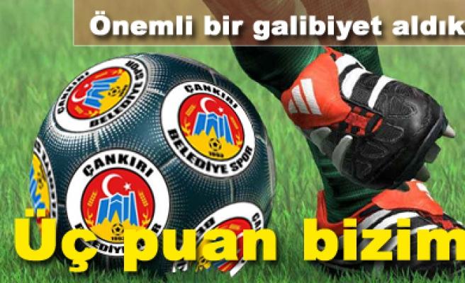 Çankırı Belediyespor 2-1 Karsspor Maç sona erdi...
