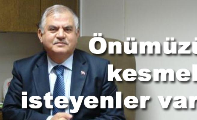 Nurettin Akman; önümüzü kesmek isteenler var!