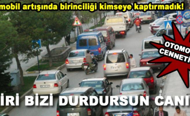 Çankırı otomobil sayısında Türkiye birincisi oldu