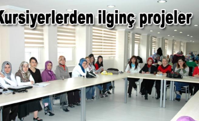 Bayanlardan yeni projeler