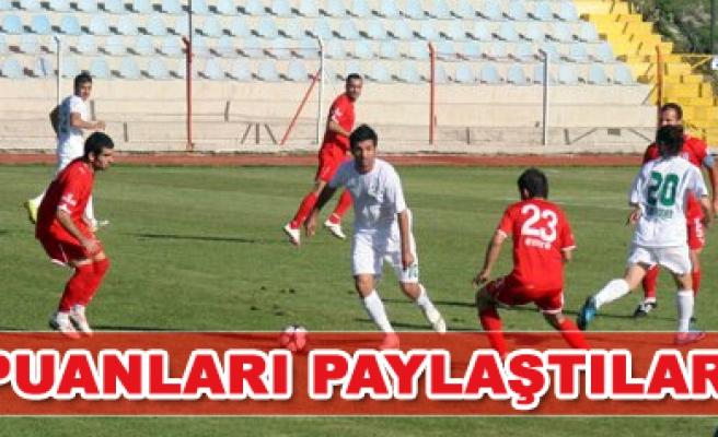 Beypazarı Şekerspor - Çankırı Belediyespor: 0 -0