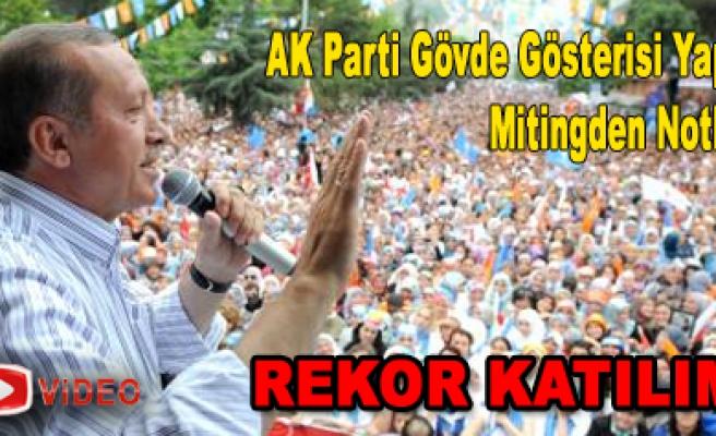 AK Parti Çankırı da Gövde Gösterisi Yaptı