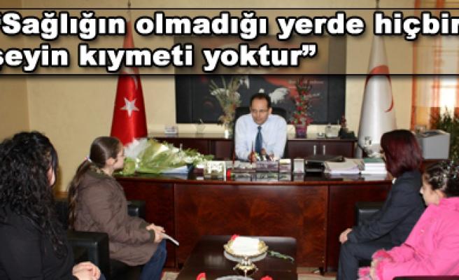 Çocuk Meclisinden Mehmet Karakoç a ziyaret