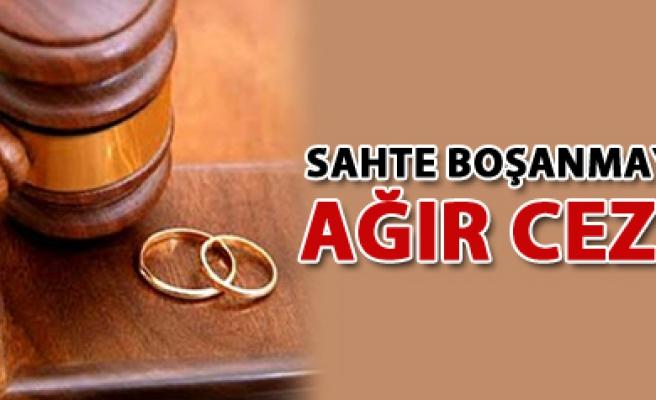 Çankırı da Sahte Boşanmaya Ağır Ceza