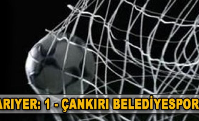 Sarıyer-Çankırı Bld.: 1-1