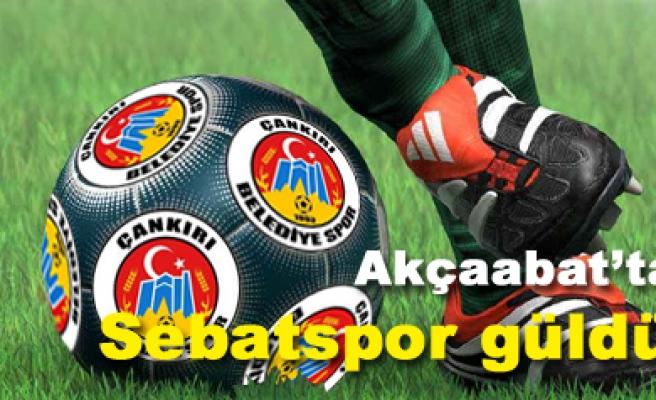 A. Sebatspor 2 Çankırı Belediyespor 1 Maç sona erdi...