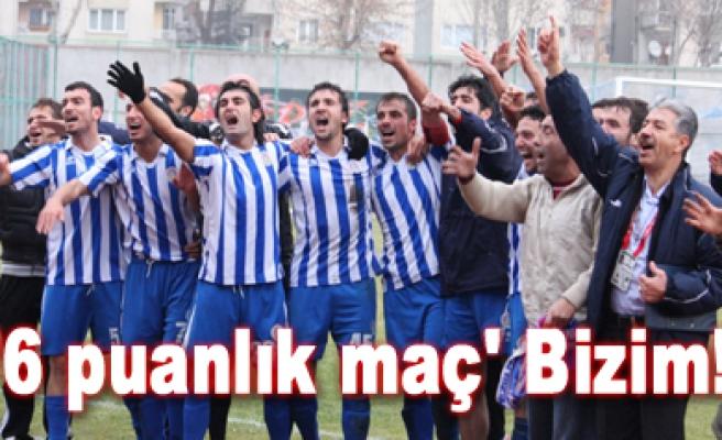 Çankırı Belediyespor 2-1 A. Sebatspor Maç sona erdi