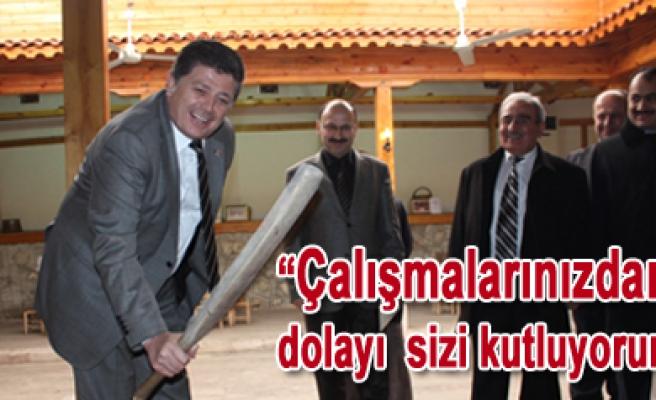 Başkan Dinç, CHP Milletvekili ve CHP Yöneticilerini Ağırladı