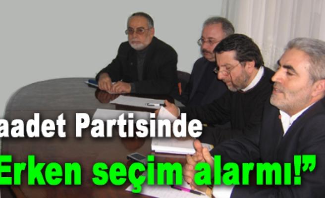 Saadet Partisi ısınma turlarına başlıyor!