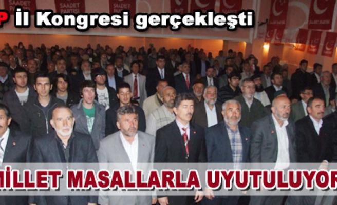 Çankırı Saadet kongresini yaptı