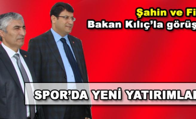 Şahin ve Filiz, Gençlik ve Spor Bakanı Kılıç'la görüştü