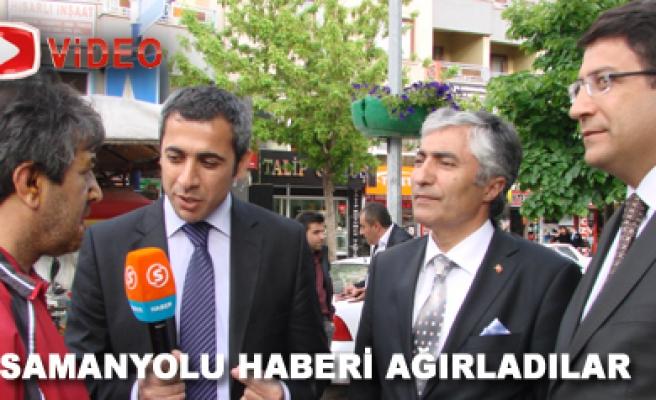 Ak Parti Milletvekili Adayları Samanyolu Haberi Ağırladı