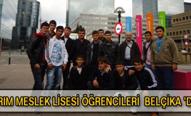 Tarım Meslek Lisesi öğrencileri Belçikada