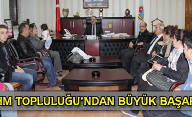 Türk Halk Müziği Topluluğundan büyük başarı