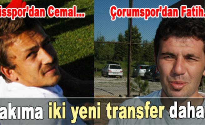 Çankırı Belediyesporda iki önemli transfer!