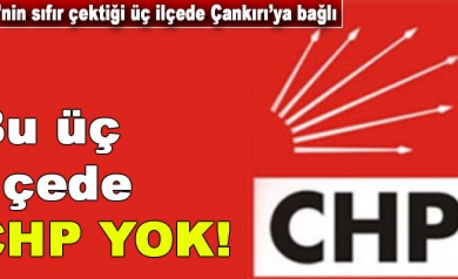 Çankırının dört ilçesinde CHP kongre yapamıyor!