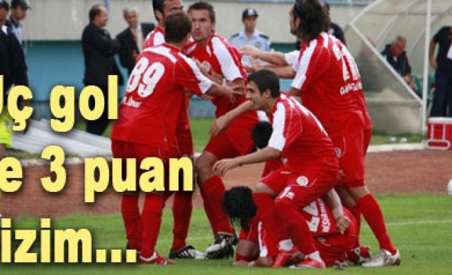 Kırşehirsporu puansız evine gönderiyoruz...