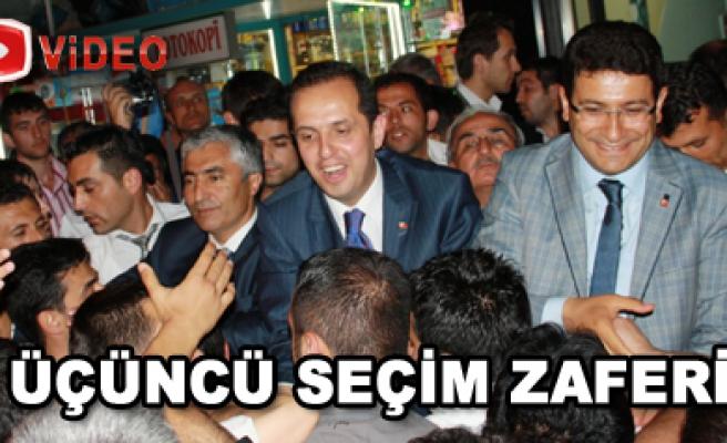 Çankırı AK Parti Büyük Zaferini İlan Etti
