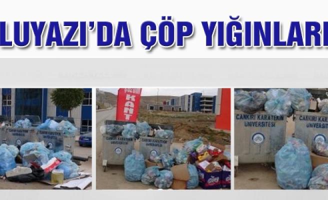 Uluyazı'da çöp yığınları!