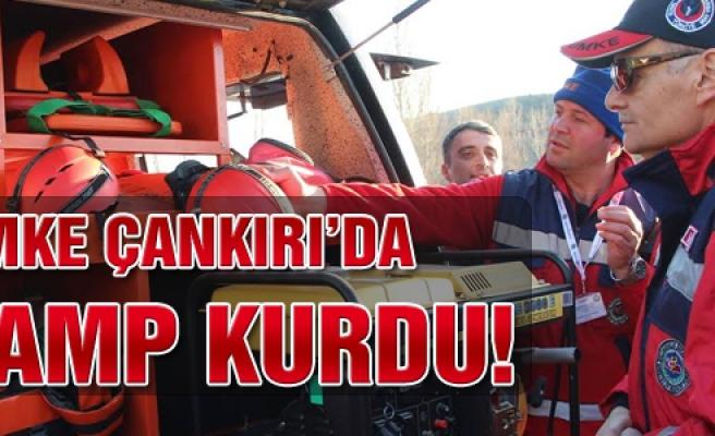 UMKE Çankırı'da kamp kurdu!