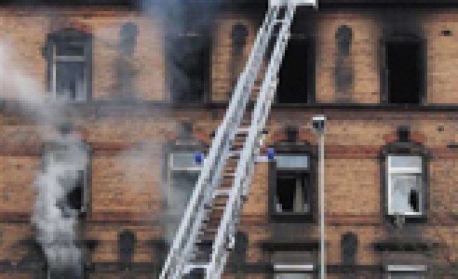 FLAŞ. FLAŞ. Aşağı Özlü köyüne ateş düştü