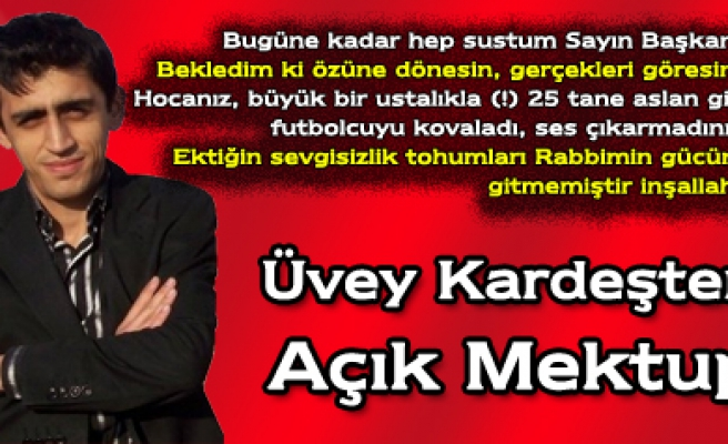 Mehmet Sevdiyardan Çankırıspor Başkanına Açık Mektup