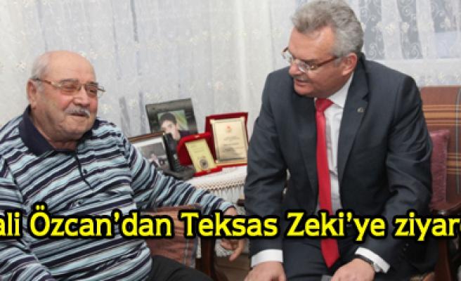 Vali Özcan dan Zeki Babadağa ziyaret