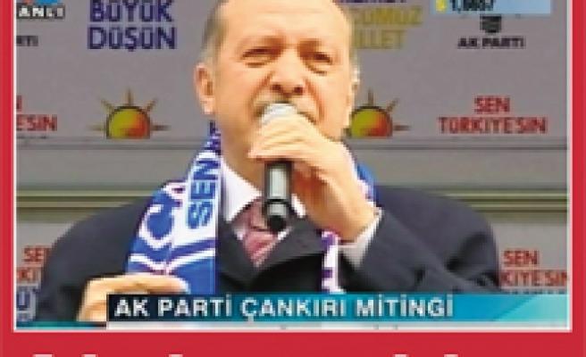 Video İzle! Başbakan Çankırıdan ayrıldı...