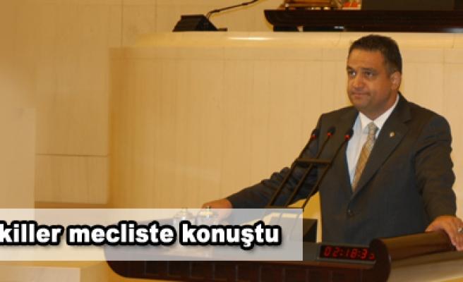 Çankırılı vekiller mecliste konuştu