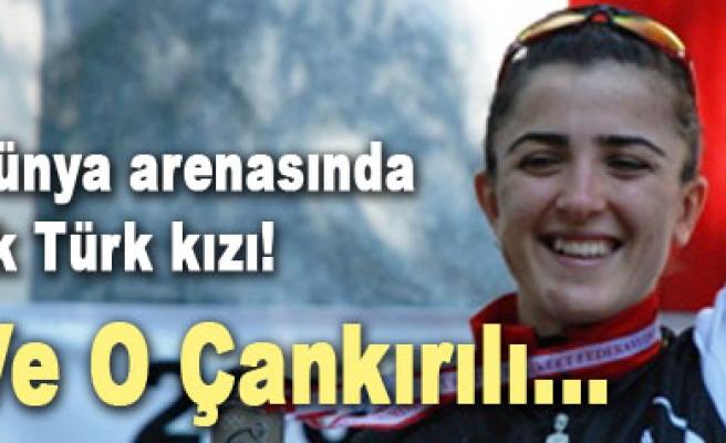Dünya Şampiyonasında yarışacak ilk Türk bayan bisikletçi