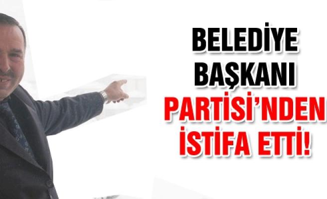 Yapraklı'da Belediye Başkanı partisinden istifa etti!